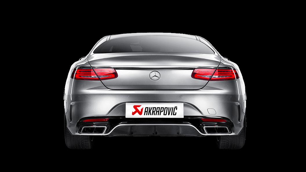 Выхлопная система AKRAPOVIC для MERCEDES-AMG S63 Coupe (C217)
