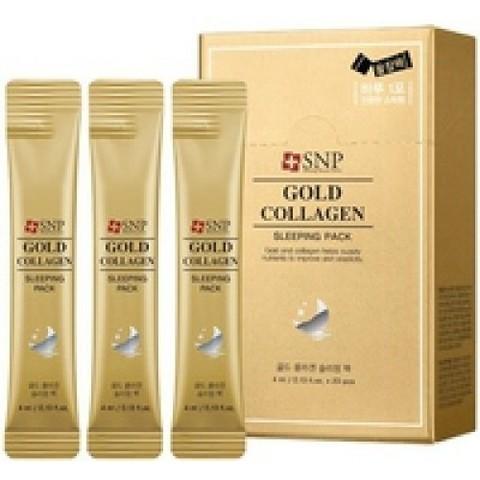 SNP GOLD COLLAGEN Sleeping Pack