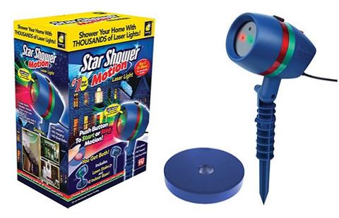 Лазерный звездный проектор светильник Star Shower Laser Light Motion