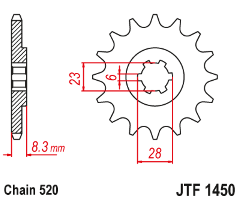 JTF1450