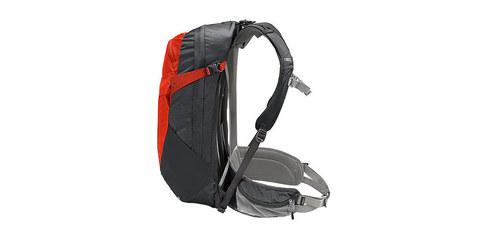 Картинка рюкзак туристический Thule Capstone 22 Тёмно-Серый/Оранжевый - 5