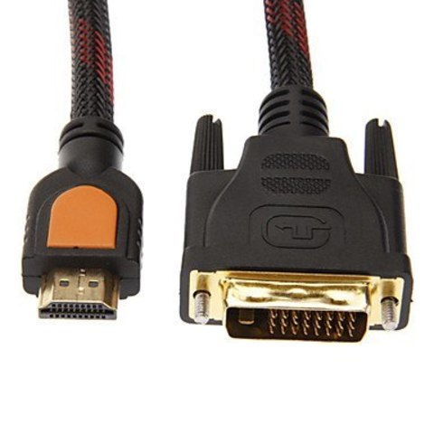 HDMI - DVI 3 метра - Кабель  провод  шнур HDMI-DVI-D 1.5М