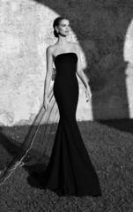 Длинное платье с бантом из коллекции Кутюр от дизайнера Tarik Ediz 92560