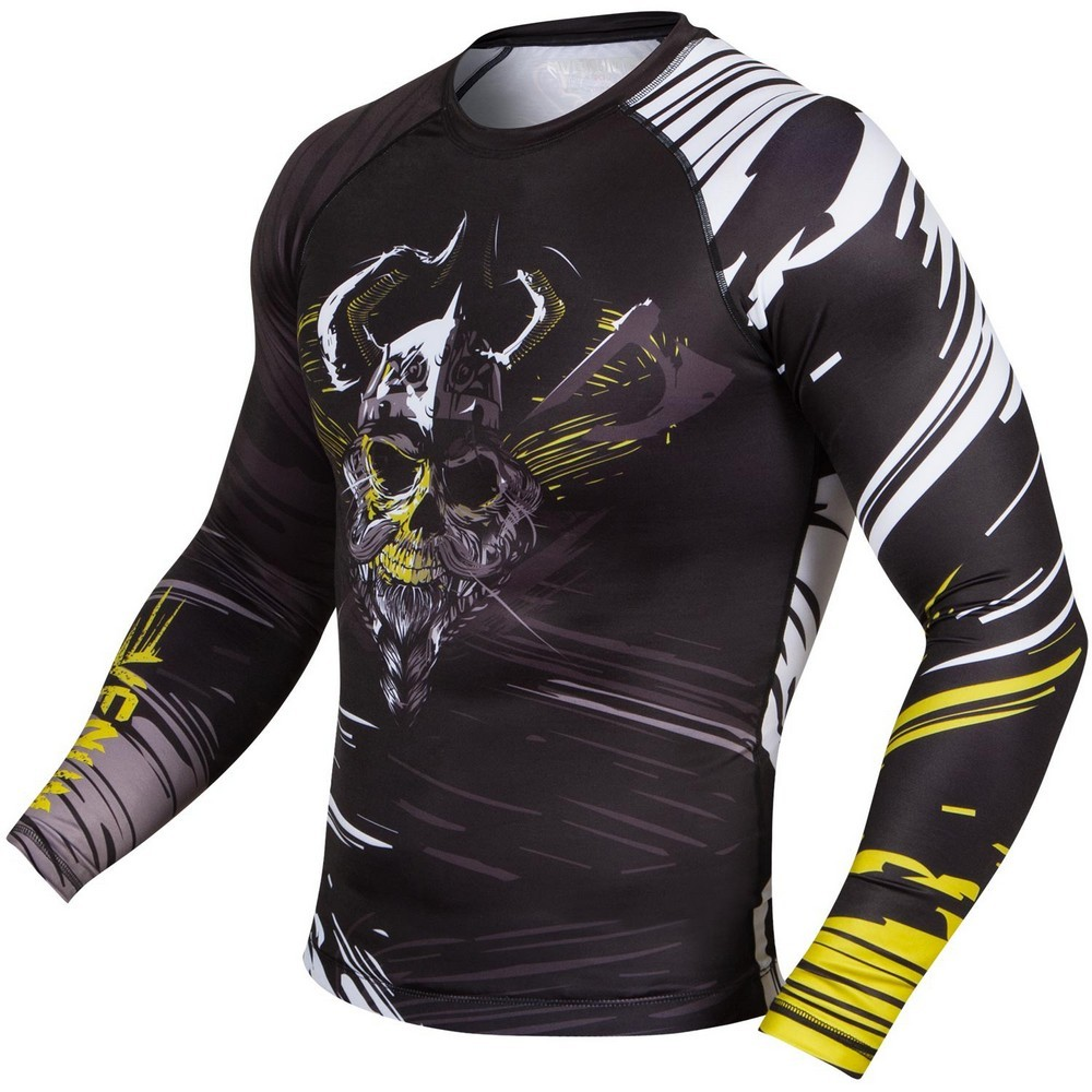 Термобелье/Рашгарды Рашгард Venum Viking Rashguard Long sleeves Black 1.jpg