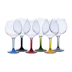 BALLOON GLASS -COLOURS BASE, PARTY