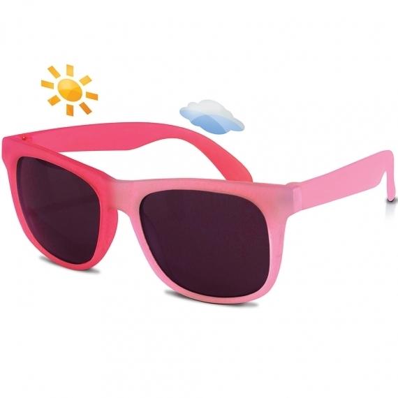 Солнечные очки для малышей Real Kids Switch 2-4 года розовые
