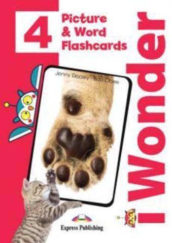 i Wonder 4 - Picture and Word Flshcards - Картинки для запоминания лексики