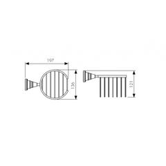Держатель для освежителя воздуха KAISER Arno KH-2212 схема