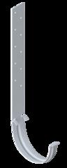 Кронштейн желоба металл белый