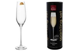 Набор бокалов для шампанского «Sparkling set», в тубусе, фото 1