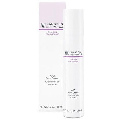 Janssen Oily Skin: Активный крем для лица с Аha кислотами (Aha Face Cream)