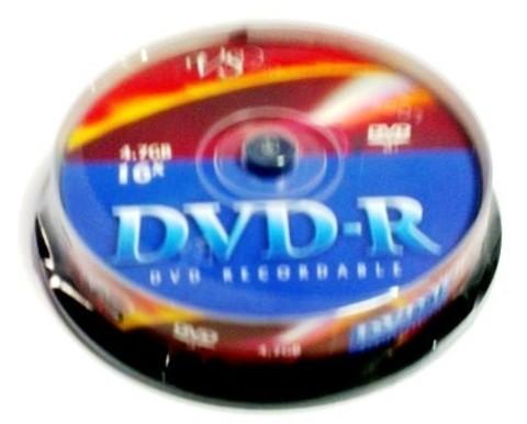 Диск VS DVD-R 4,7GB 16x CB/10