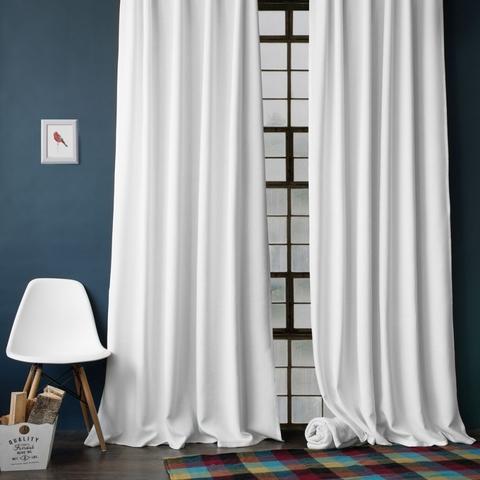 Комплект штор с подхватами Джулия белый