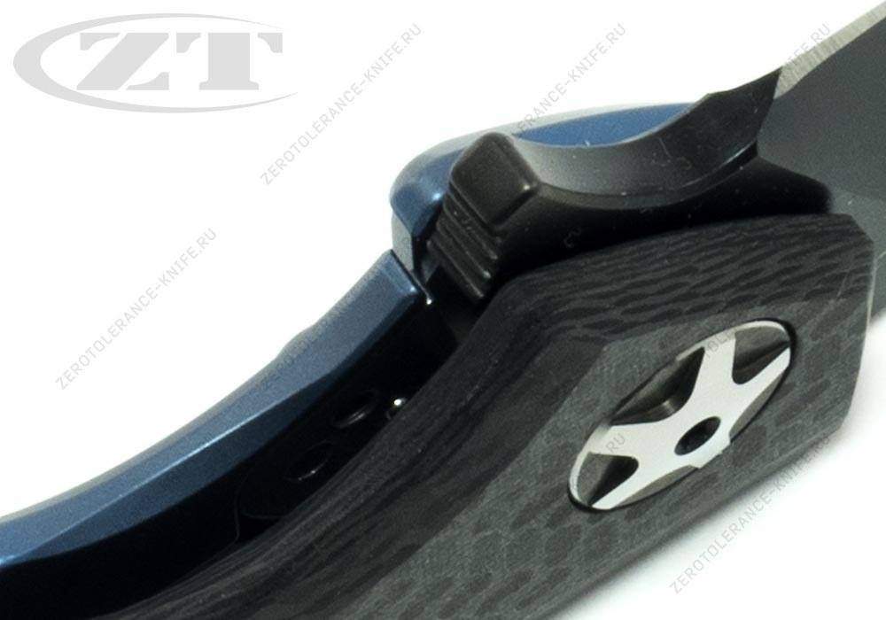 Нож Zero Tolerance 0452CFBLUBLK Sinkevich - фотография