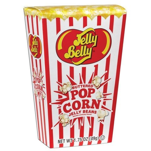 Jelly Belly Buttered Popcorn Джелли Белли со вкусом попкорна с маслом 49 гр