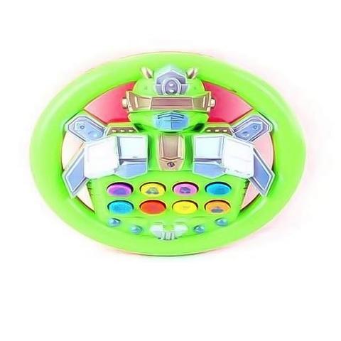 Руль (звук, свет) Робот 14 см. в пакете 1кор*1бл*4шт