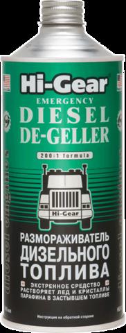 4114 Размораживатель дизельного топлива  EMERGENCY DIESEL DE-GELLER 946 мл(a), шт