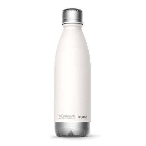 Термобутылка Asobu Central park (0,51 литра), белая/серебристая