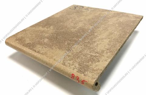 Stroeher - Keraplatte Roccia 835 sandos 340x294x12 артикул 9340 - Клинкерная ступень - флорентинер