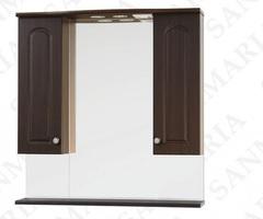 Зеркало-шкаф SanMaria Венге-80 венге