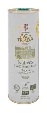 Оливковое масло греческое Органик Agia Triada 500 мл в жести