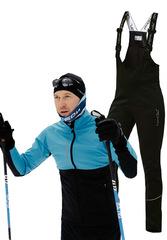 Утеплённый лыжный костюм Nordski Premium Light Breeze-Black 2020 мужской