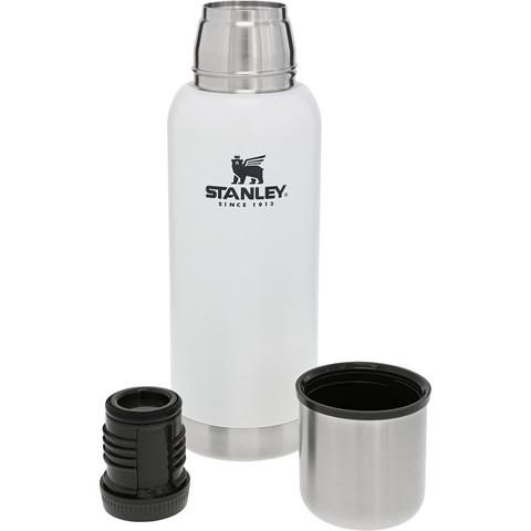 Термос STANLEY ADVENTURE VACUUM BOTTLE 0.73L - белый