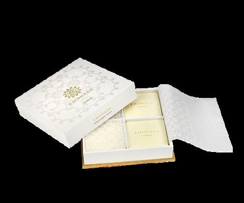 Amouage Gold Woman soap 4x50гр