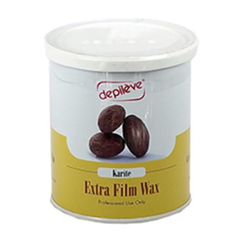 Воск пленочный с маслом карите FILM WAX KARITE Depileve, 800 гр.