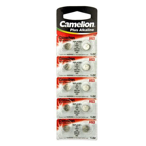 Батарейки Camelion AG 3 / 10 BL