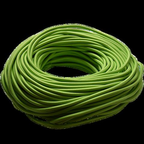 Круглый ретро провод (Зеленый)