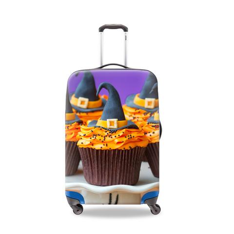 Чехол для чемодана - Хэллоуин