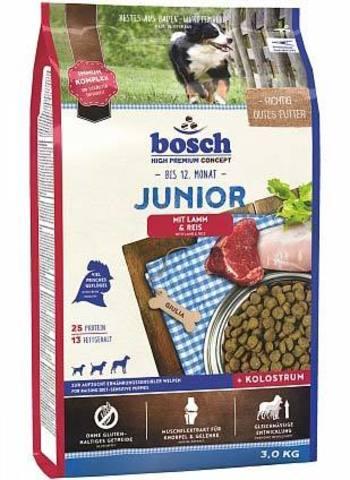 15 кг. BOSCH Сухой корм для щенков с чувствительным пищеварением с ягненком и рисом Junior Lamb&Rice