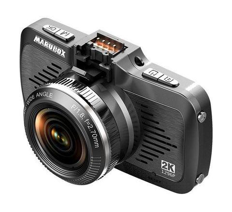 Видеорегистратор Marubox M330 с GPS, 2 в 1, Super Full HD 1296P, угол обзора 170 градусов