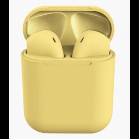 Беспроводные наушники InPods 12 желтые