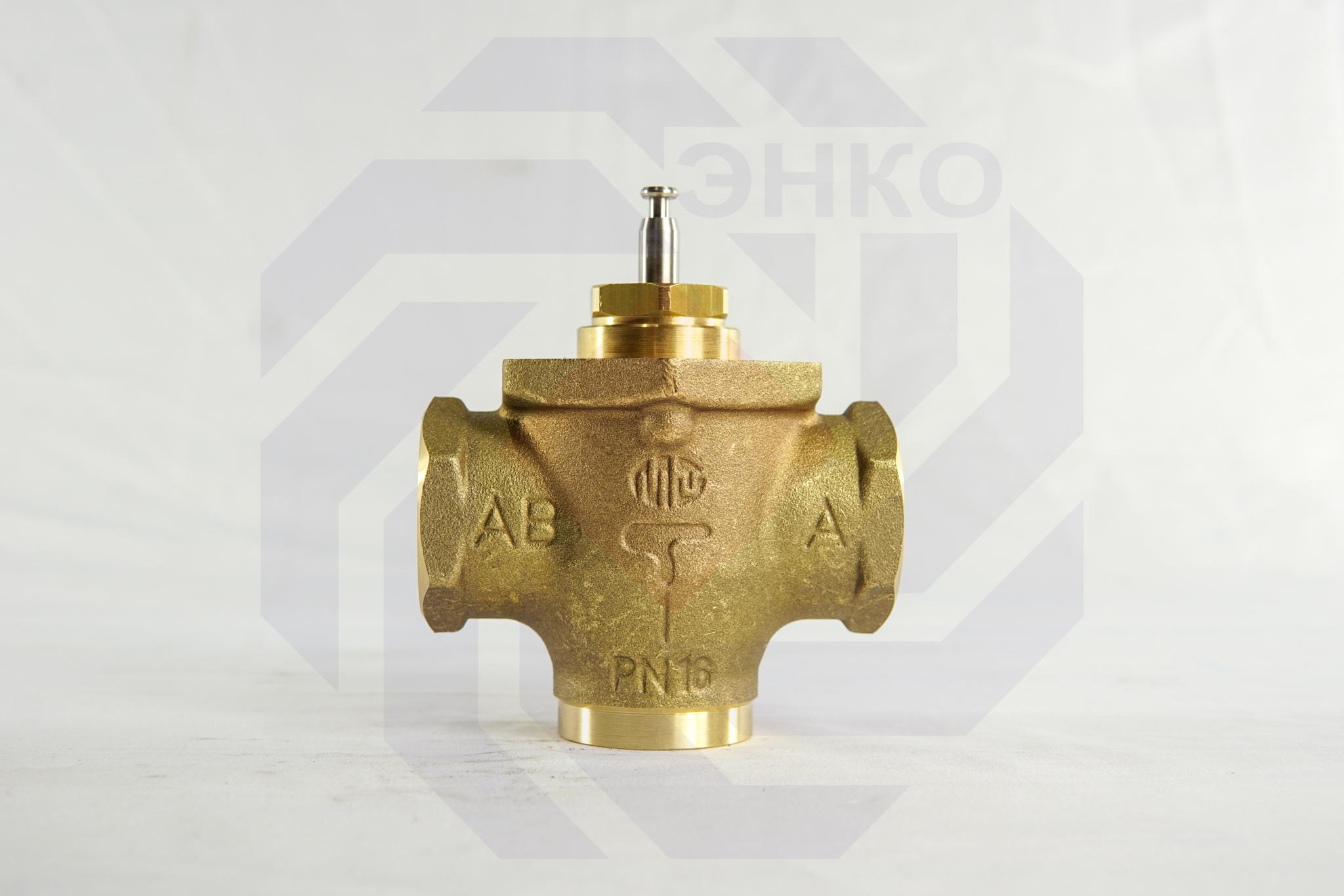 Клапан регулирующий двухходовой MUT MK DN 25