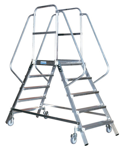 STABILO Лестница - платформа двухсторонняя с 8-ю алюм. Ступеньками