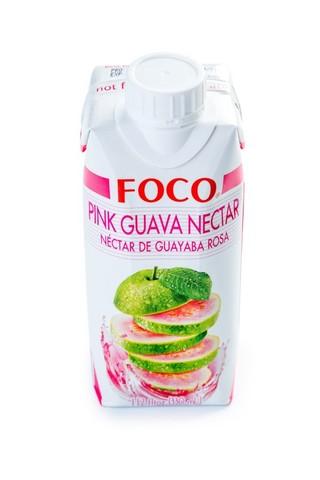 Нектар розовой гуавы FOCO   330мл.