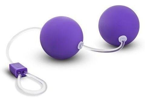 Фиолетовые вагинальные шарики Bonne Beads