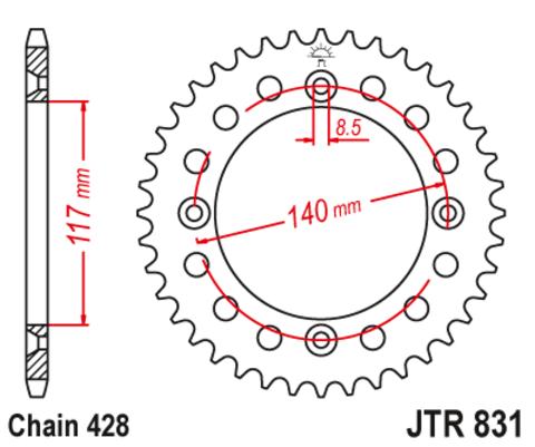 JTR831