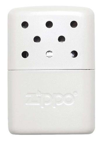 Каталитическая грелка Zippo, сталь с покрытием Pearl, белая, матовая, 51x15x74 мм