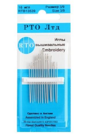 ИГЛЫ ВЫШИВАЛЬНЫЕ-RTB 13539-RTO