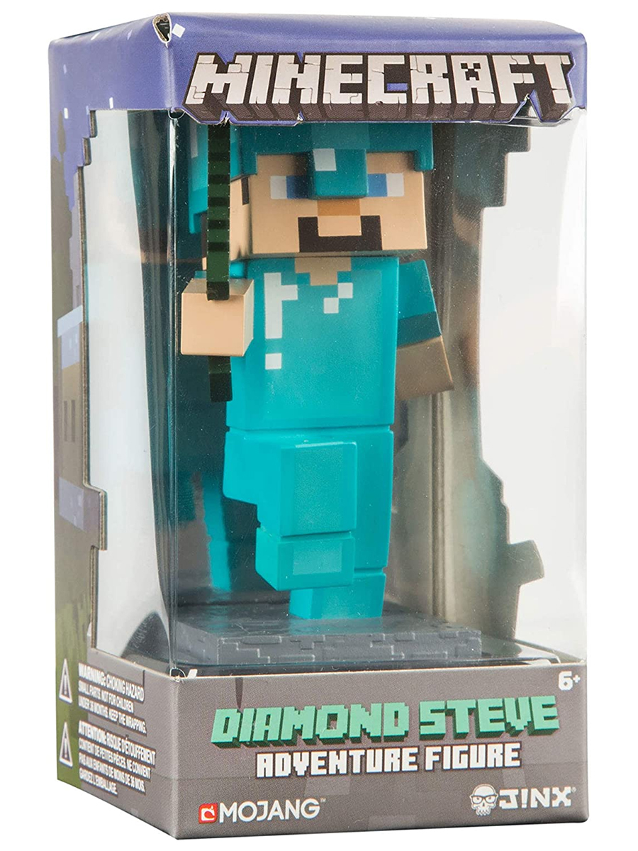 Фигурка Minecraft Adventure Steve пластик 10см