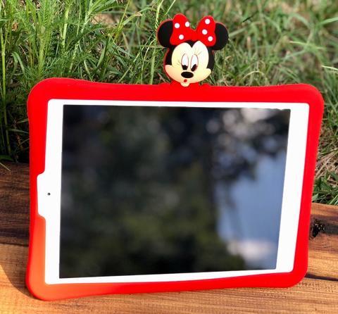 Накладка силикон iPad mini 1/2/3/4 Disney Minnie Mouse /red/