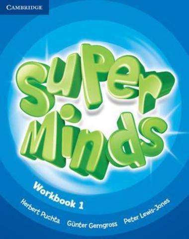 Super Minds 1 (SB+WB)+CD+DVD