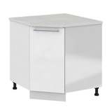 Кухня Капля 3D Шкаф нижний угловой СУ 850*850