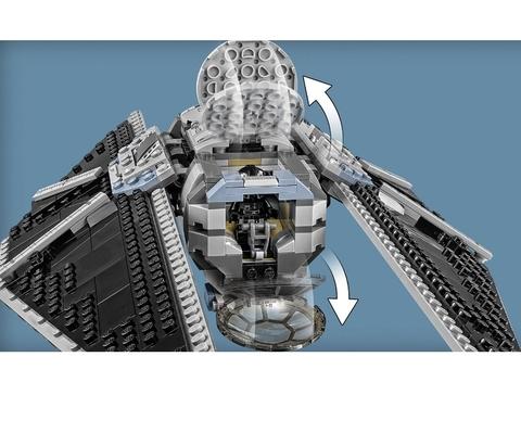 LEGO Star Wars: Ударный истребитель TIE 75154 — TIE Striker — Лего Звездные войны Стар Ворз