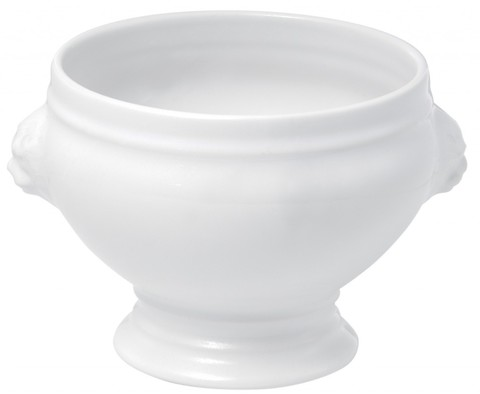 Фарфоровая суповая чашка, белая, артикул 646138, серия French Classics