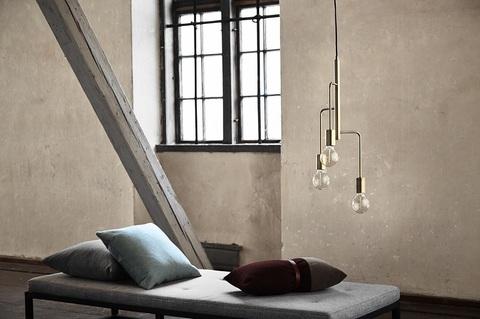 Лампа подвесная Cool, античная латунь матовая