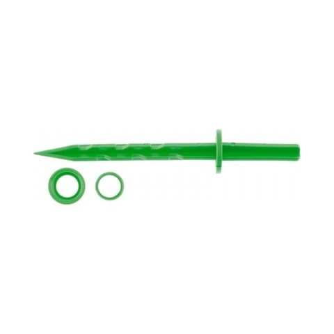 Колышек 20см зеленый Palisad 10шт